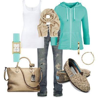 LOLO Moda: #Tan #Turquoise
