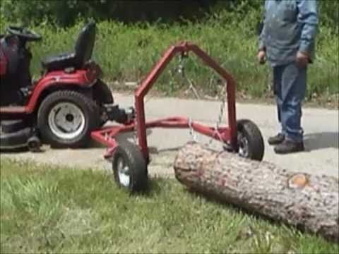 Diy Build Your Own Log Skidder Plans Craftsman 2 Lt4000 Diy