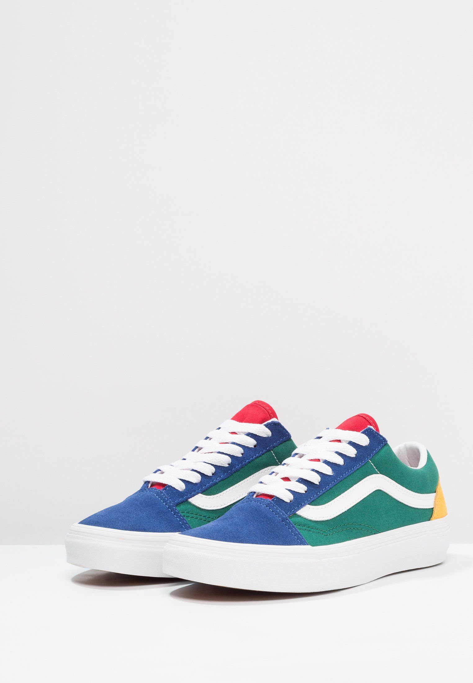 b1f3eac933 Chaussures Vans UA OLD SKOOL - Baskets basses - blue green yellow  multicolore  79