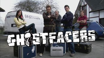 Ghostfacers2.jpg The Ghostfacers was the name adopted by Harry Spengler and Ed Zeddmore for their reality TV series pilot about a group of paranormal investigators. The Ghostfacers is run out of Ed's parents' garage. Ed and Harry had previously run the Hell Hound's Lair website as seen in 1.17 Hell House.