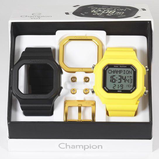 0704d8bc155 Relógio Champion YOT c  Pulseiras e Acessórios - Preto+Amarelo