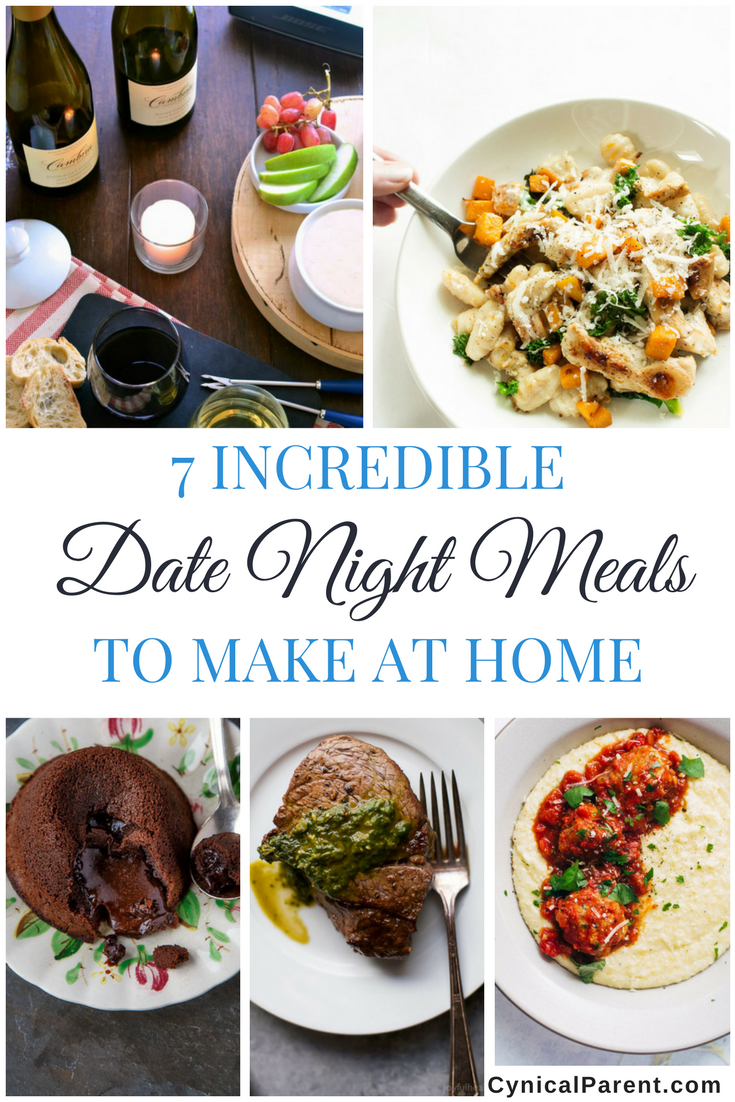 7 incredible date night meals to make at home pinterest
