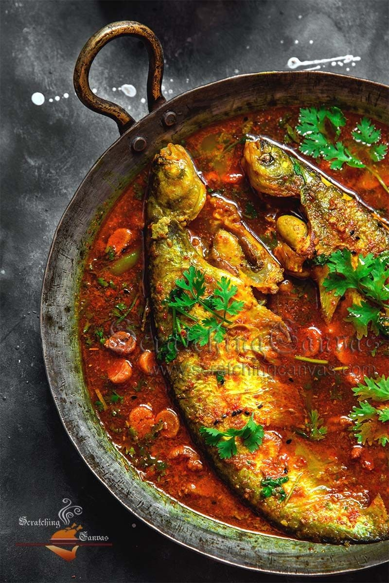 Indian Fish Food Photography