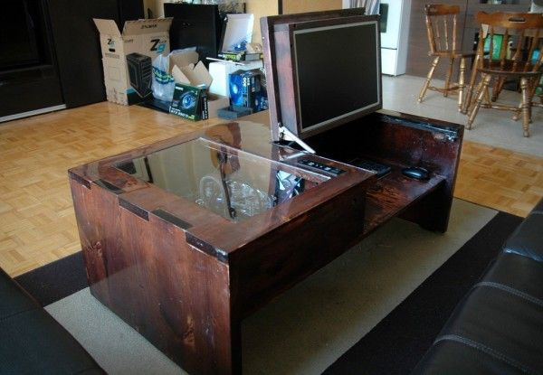 How to: Build a PC into your Coffee Table | Hack N Mod