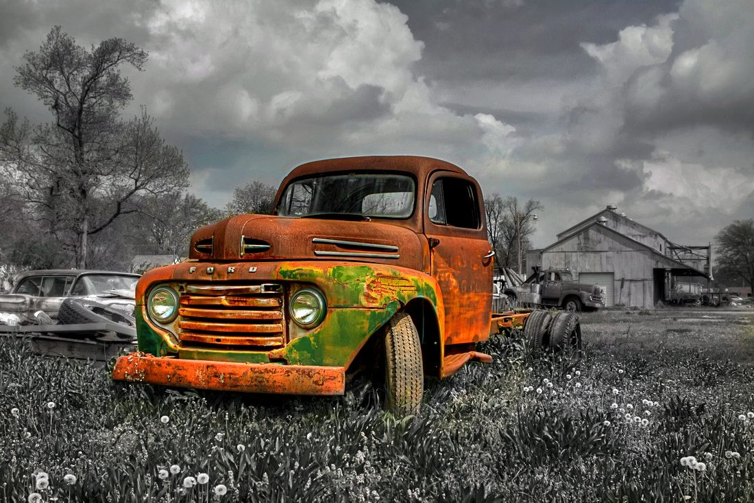 Rusted old truck | Rust in piece | Pinterest | Rust