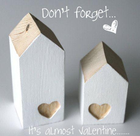 Almost Valentine, lief huisje met uitgegutst hartje van ensuus