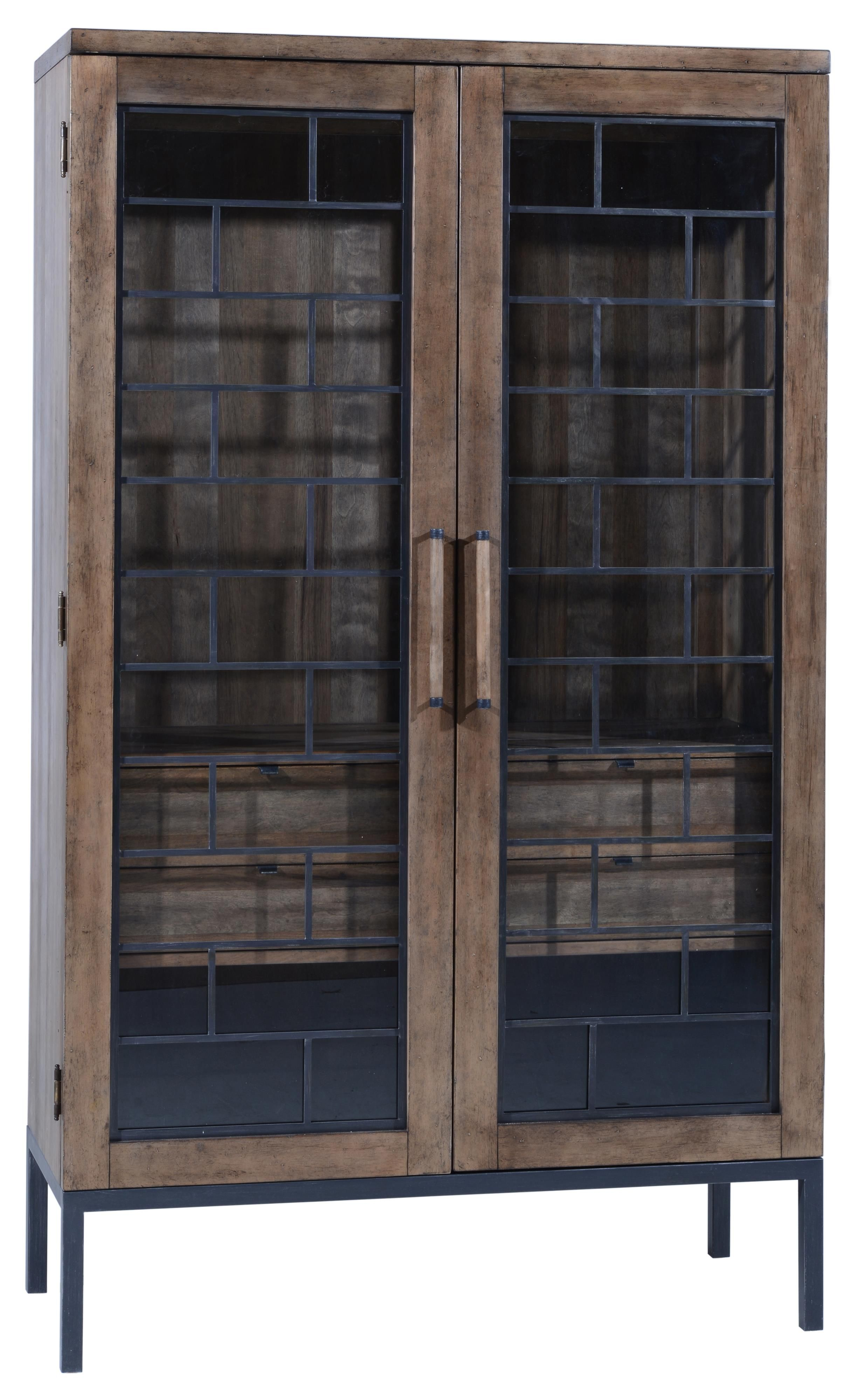 Epicenters Wood And Metal Williamsburg Display Cabinet By A R T Furniture Inc Part Of The Epicenters Display Cabinet Vintage Industrial Furniture Furniture