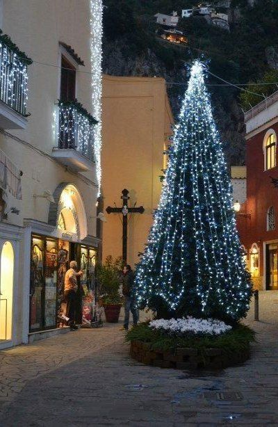 Christmas In Italy 2019.Christmas In Positano Italy By Massimo Capodanno
