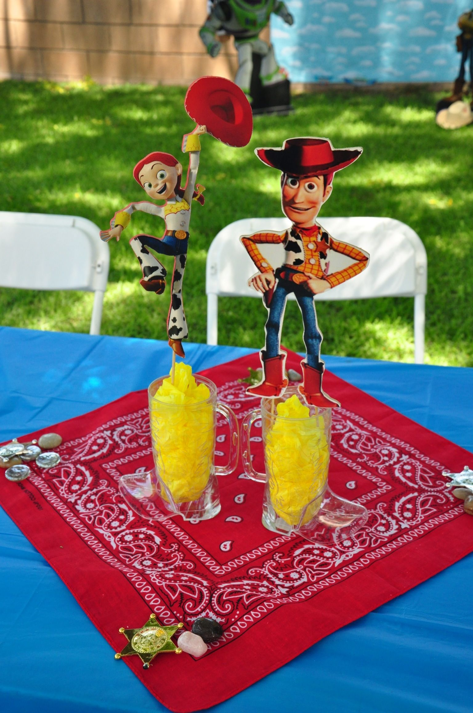 Toy Story Party Ideas Decorations : Toy story centerpiece my craft projects pinterest