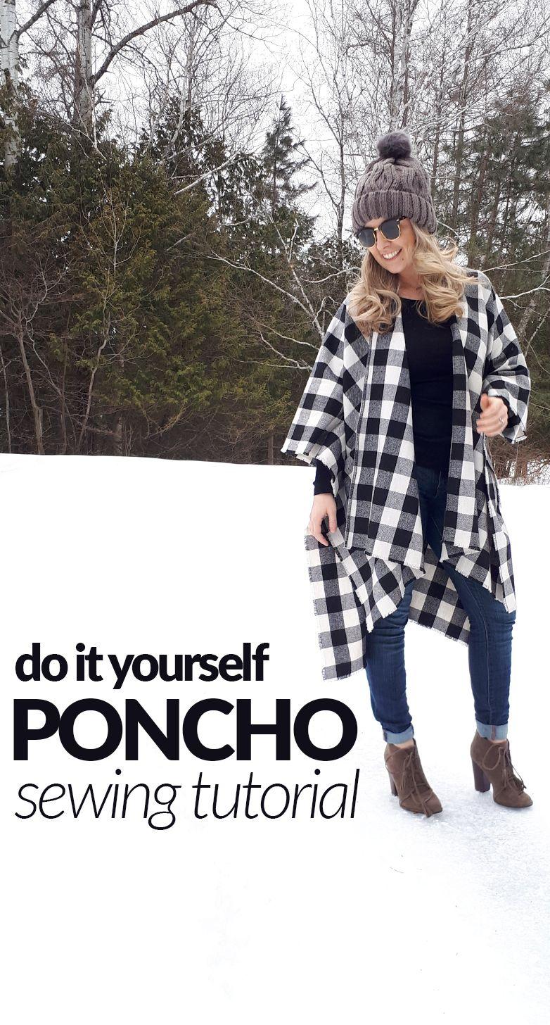 Diy poncho free sewing tutorial easy do it yourself poncho or cape diy poncho free sewing tutorial easy do it yourself poncho or cape 30 minutes solutioingenieria Gallery