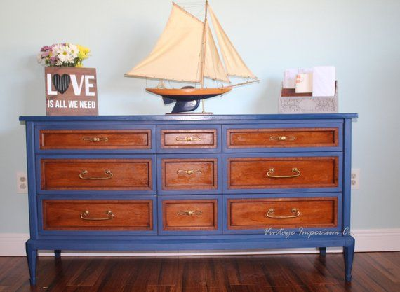 Annie Sloan Blue Chalk Paint White Fine Furniture Co Dresser Https Www