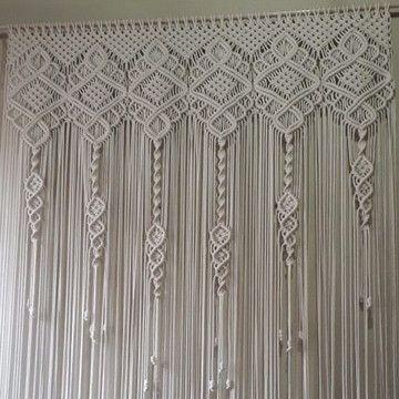 Painel decorativo em Macramé no Elo7 | arte dos nó