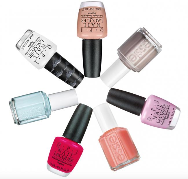 7 Summer Nail Polish Colors for Pale Hands • theStyleSafari