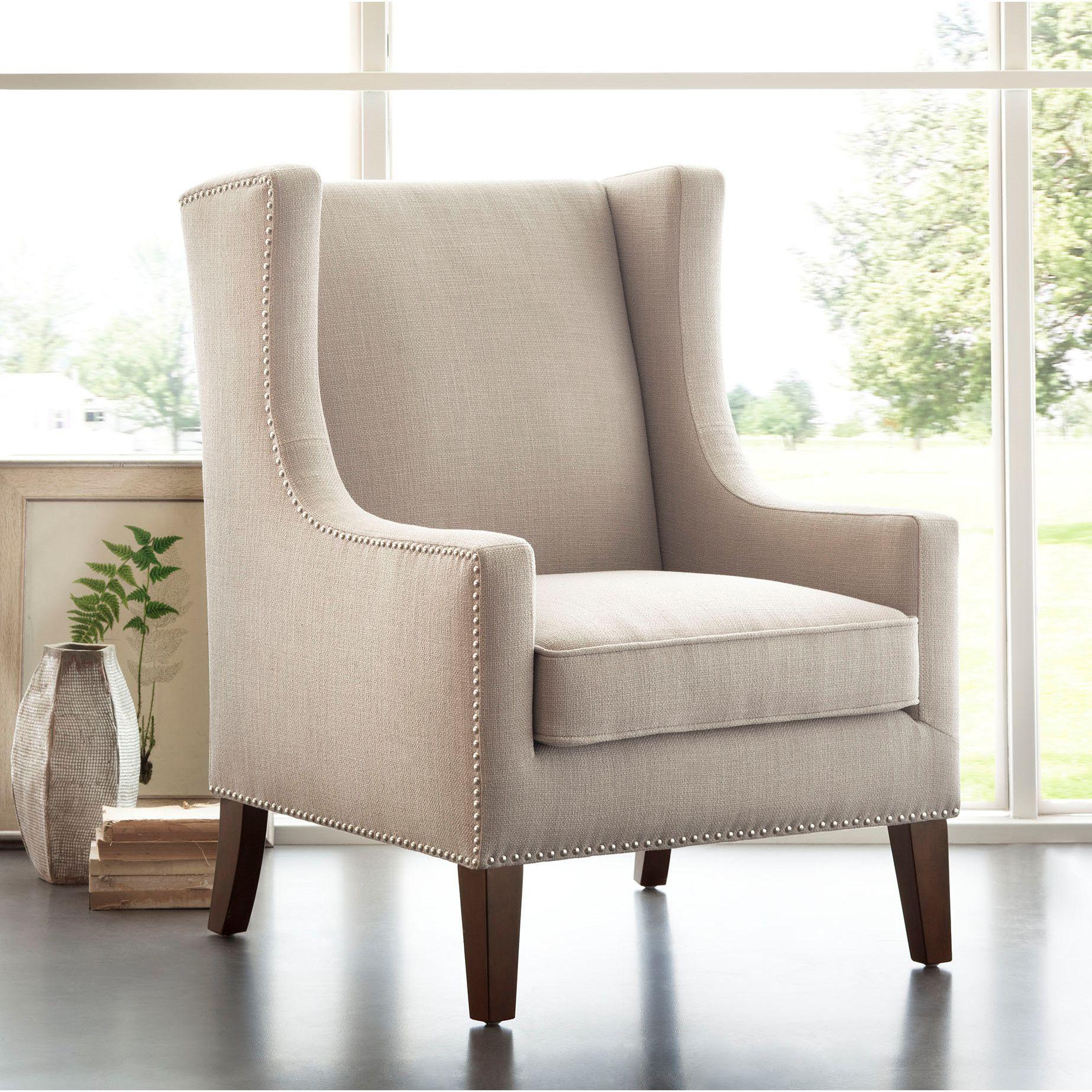 Madison Park Apartments California: Madison Park Barton Wing Chair & Reviews