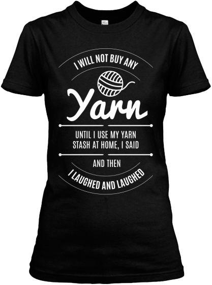 Stash Of Yarn T-Shirts | Teespring