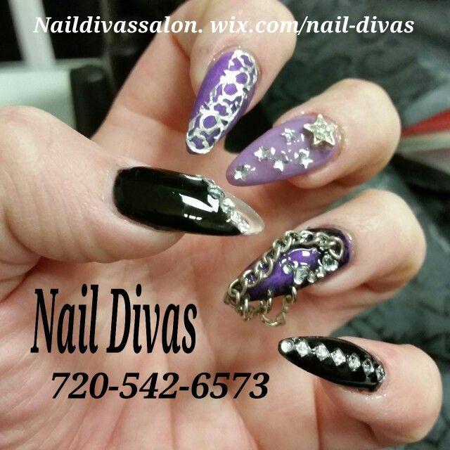 Nail Divas Salon Westminster Co 720 542 6573 Check Out Our Work Naildivassalon Wix Com Nail Divas Book Online Styleseat Com Car Diva Nails Nails My Nails