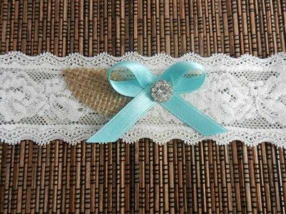 Wedding Garter Belt, Bridal Garter, Garter, Wedding Garter, Lace Garter, Bride Garter, Tiffany Blue Bow Garter, Wedding Garter Burlap