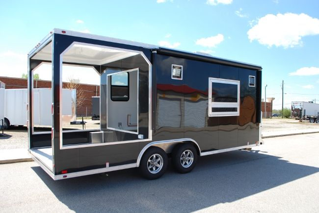 Concession Trailers Bbq Concession Trailers Custom