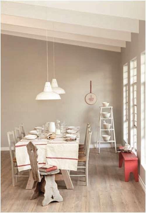 Come arredare casa con il greige - Pareti della sala da pranzo color ...