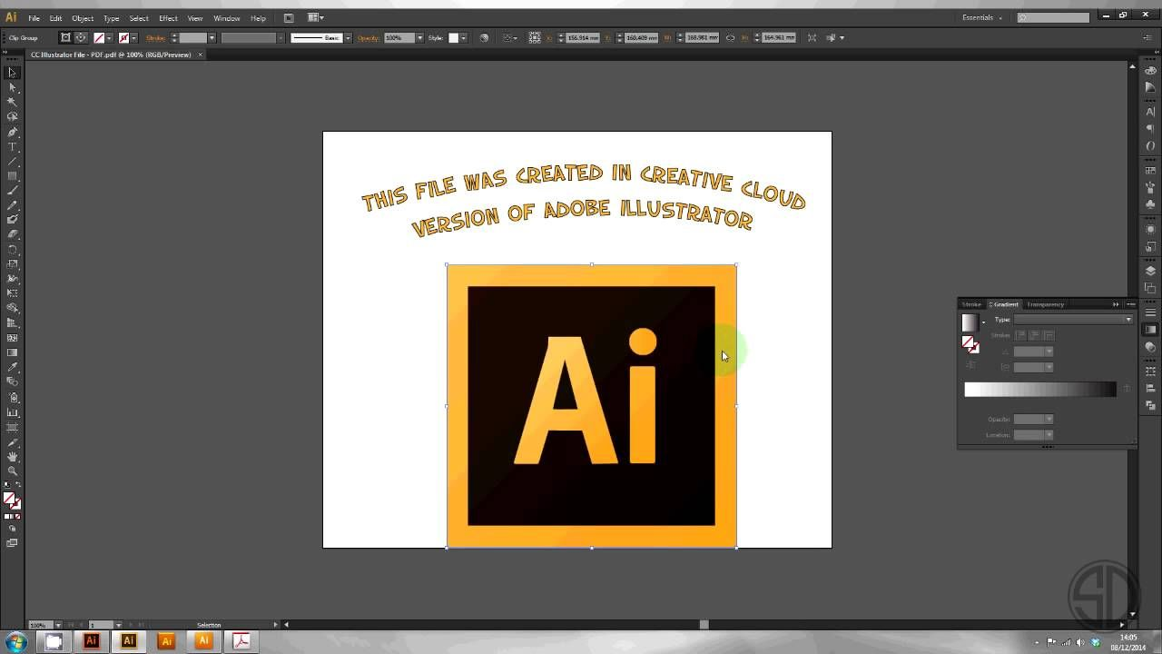 how to create a vector file in illustrator cs5