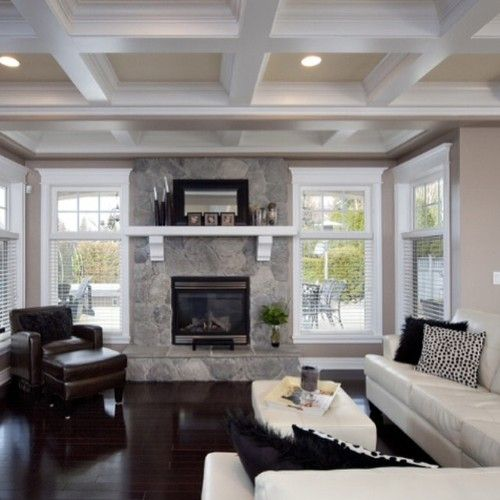 wood laminate coffered ceiling kits   Save money and create your own coffered ceiling with our ...