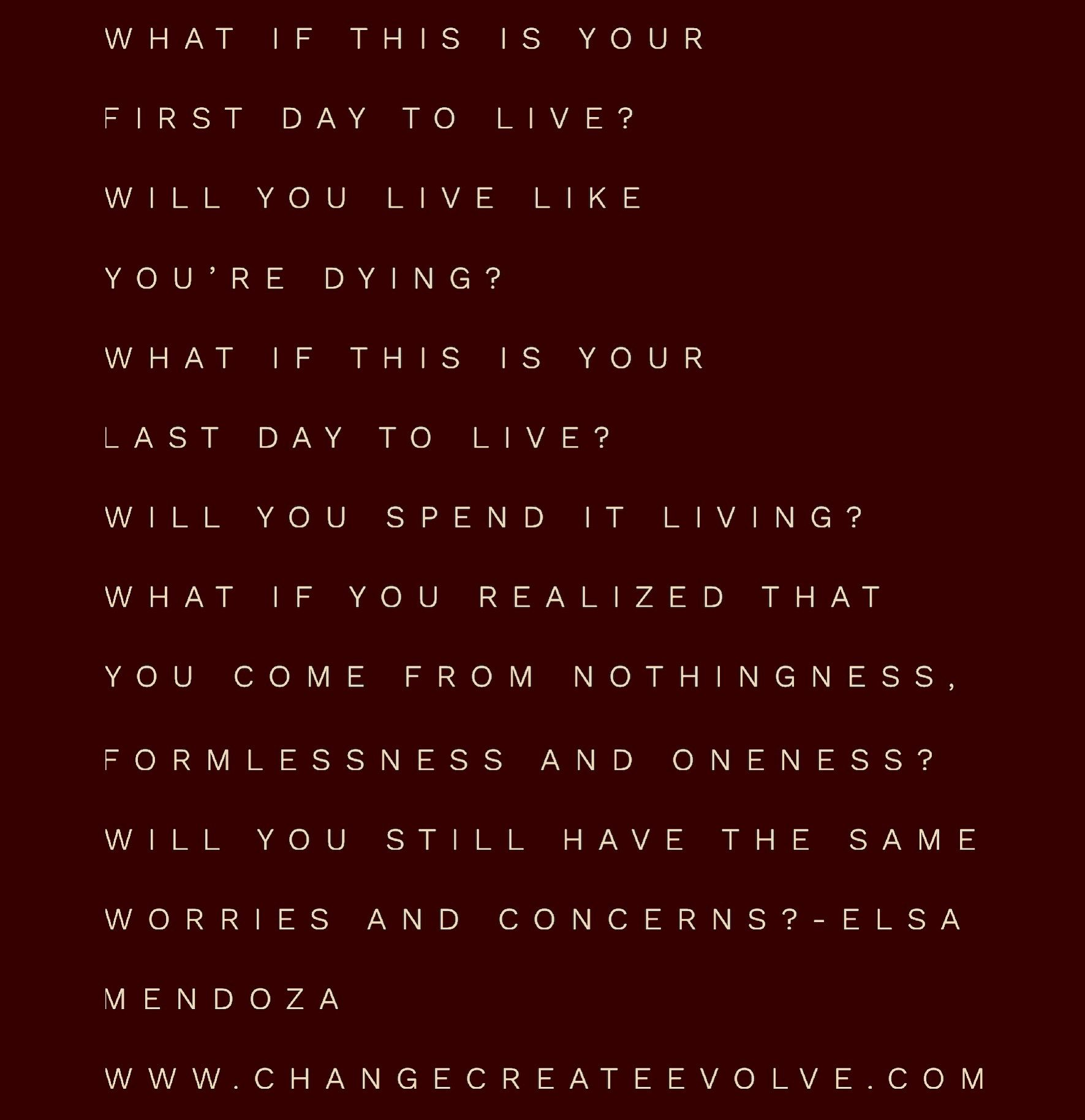 A stanza taken from WHAT IF AND WHY?   BOOK 2-WAKE UP