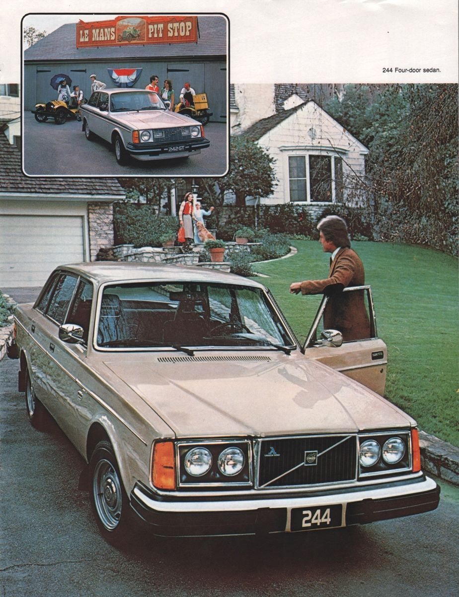 1979 Volvo Sales Brochure Volvo Volvo 240 Volvo Cars