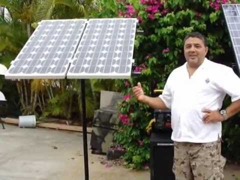 """Ready2Go Frequently Asked Questions """"how many solar panels?"""" and """"will it run a whole house?"""" - YouTube"""