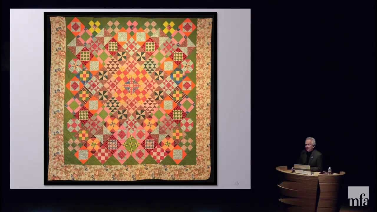 In This Full Length Lecture Collector Gerald Roy Discusses How Quilt Makers Are Free To Use Color For Color S Sake And Not Merely Quilt Stories Art
