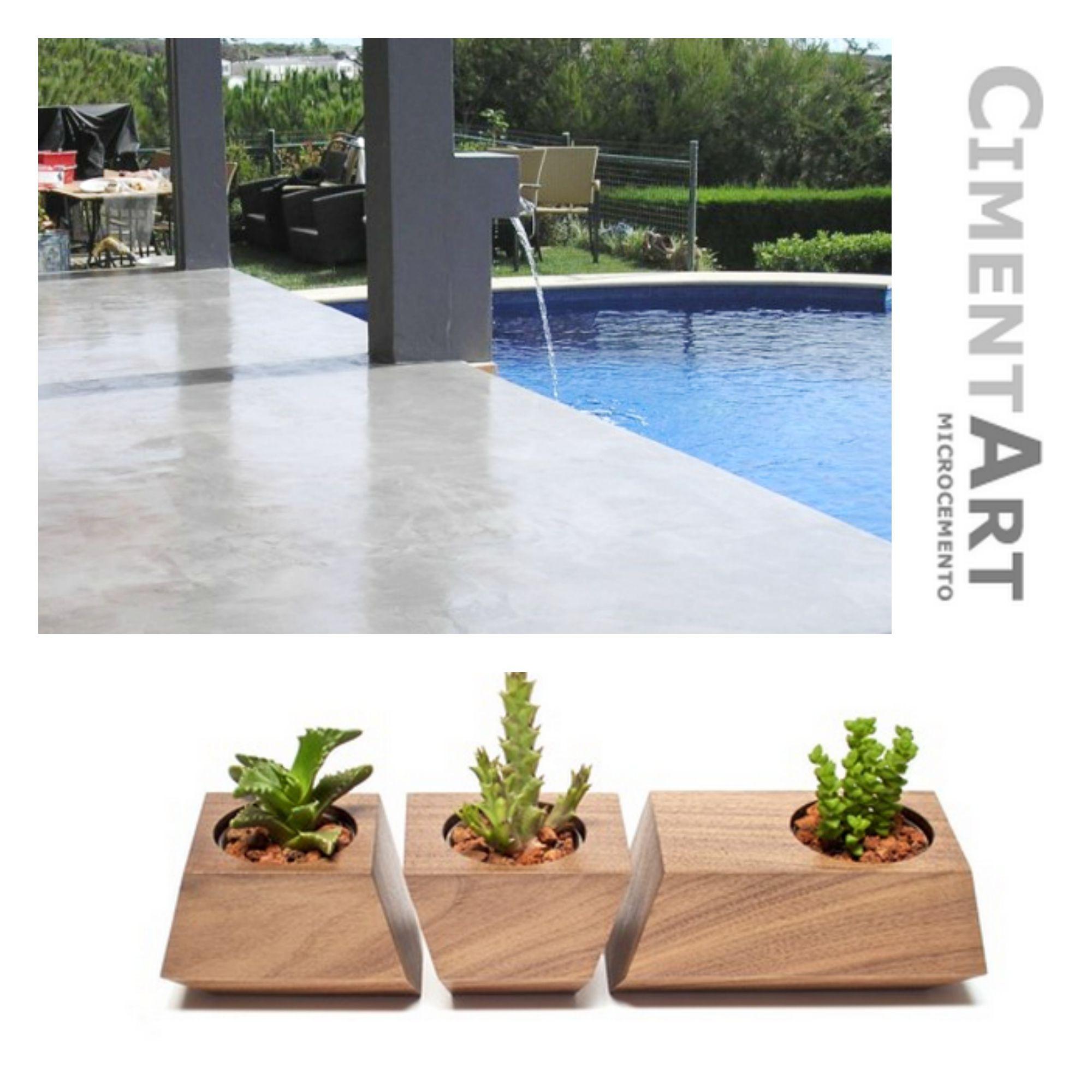crea tu terrazazhen con suelo cimentart elige elementos de jardn modernos