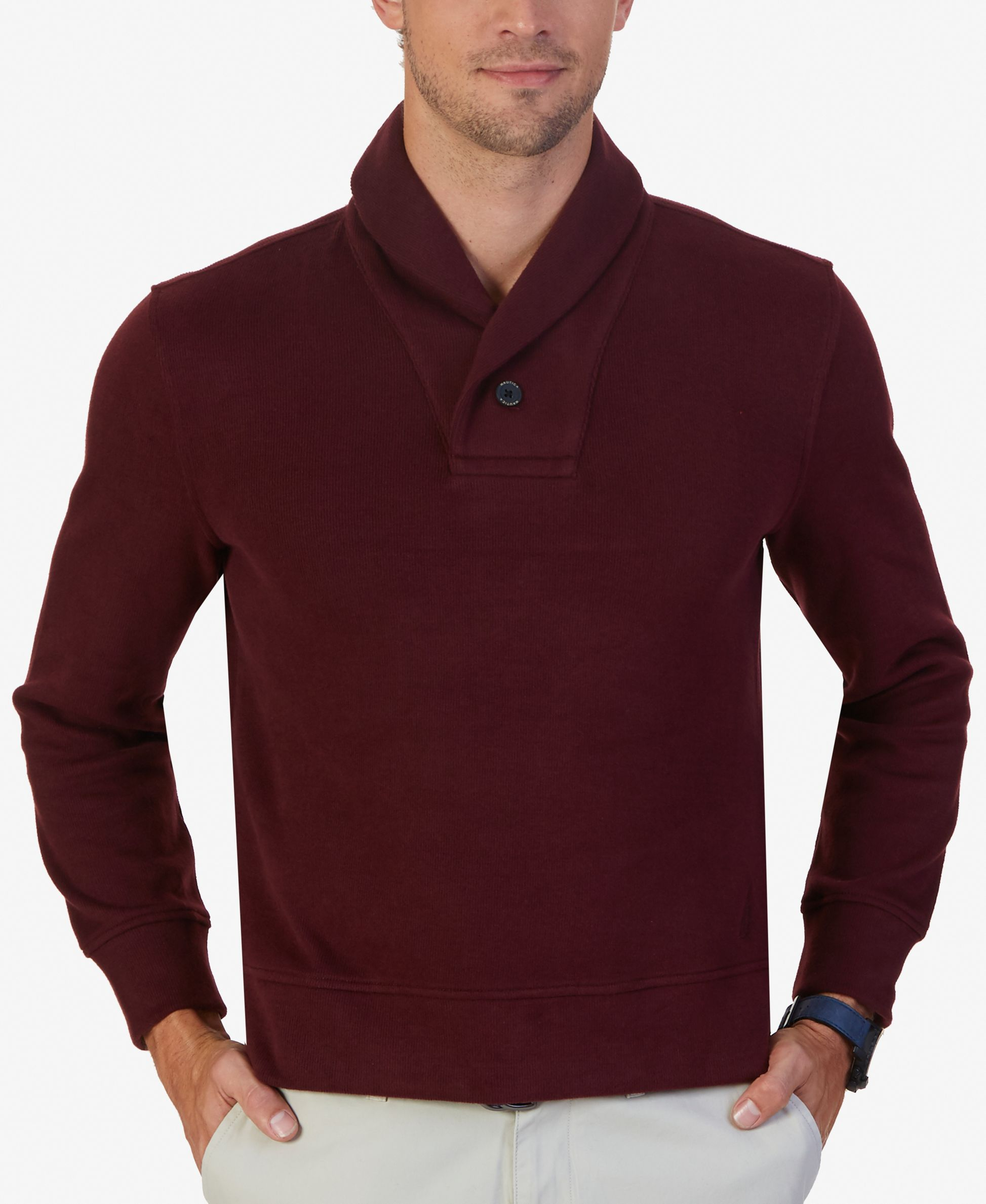 Nautica Men's Shawl-Collar Sweater   Shawl collar sweater and Products
