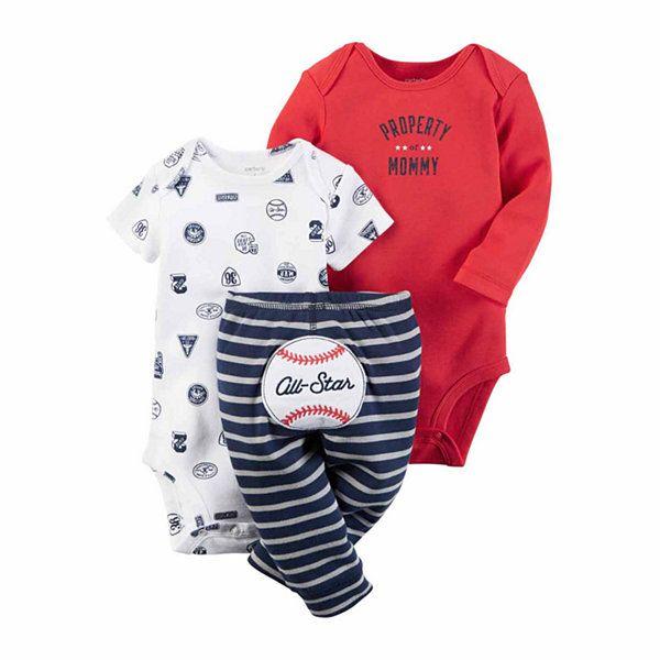 Carter S Boys 3 Pc Bodysuit Set Baby Jcpenney What Jack Avery
