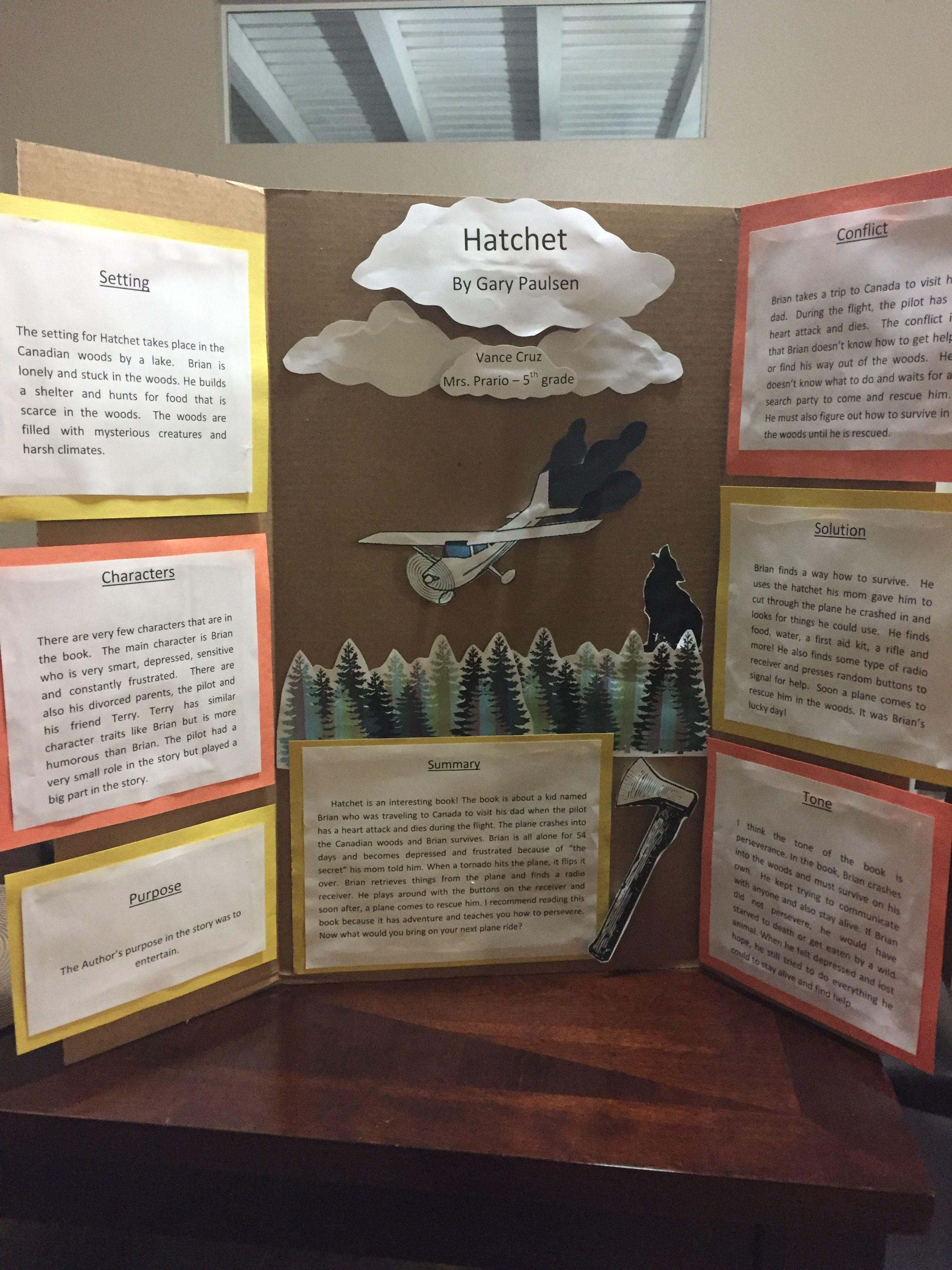 Book Report On Hatchet By Gary Paulsen