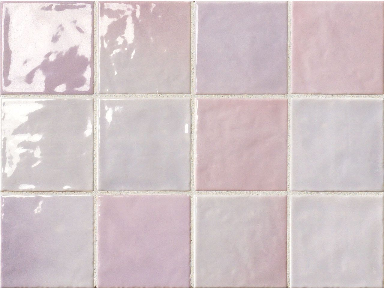 Piastrelle Bagno Mosaico Viola piastrella napoli lilla 10x10 lucido nel 2020 | bagno lilla
