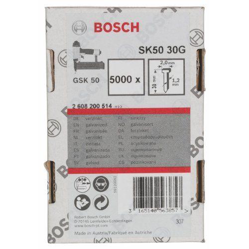 2608200514 BOSCH SK50 30MM X 12 DIA BRAD COUNTERSINK NAIL WIRE *** Continue  To