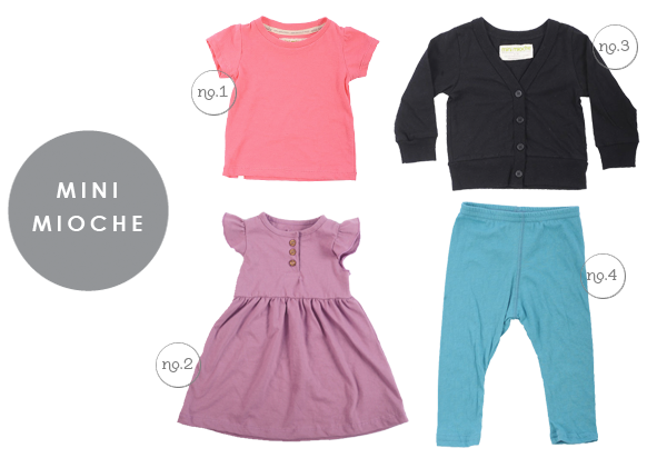 Basics for little girls