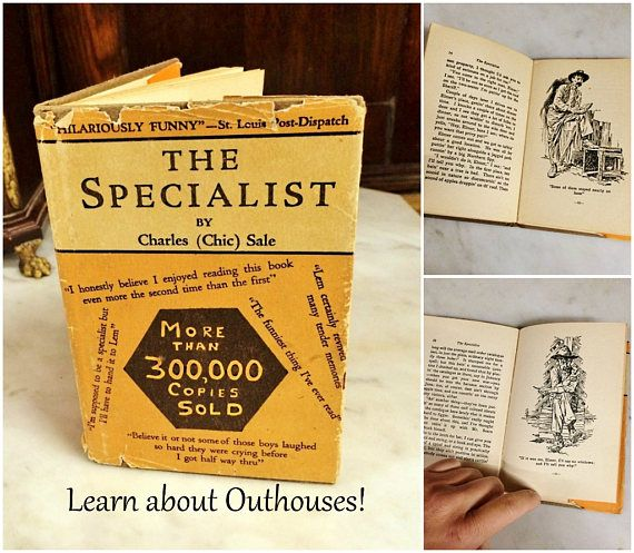 42400 Where Can You Buy A Vintage Book About Outhouses Here And