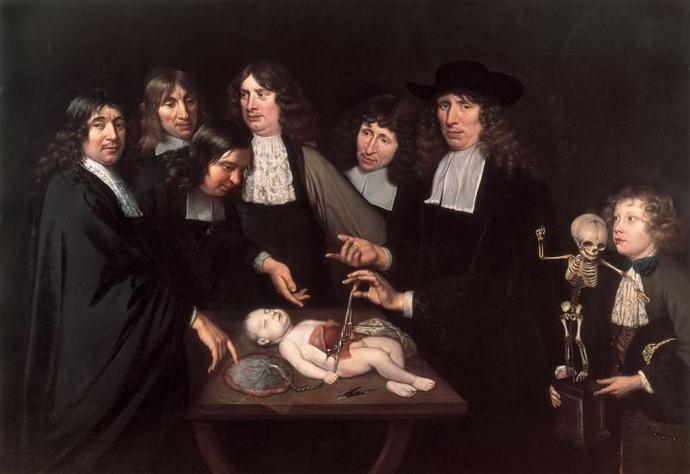 La lección de anatomía del Dr. Frederick Ruysch | Pinterest ...