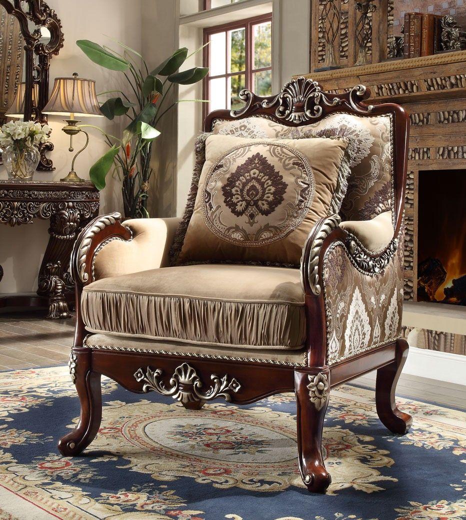 Hd 1632 Homey Design Upholstery Living Room Set Victo