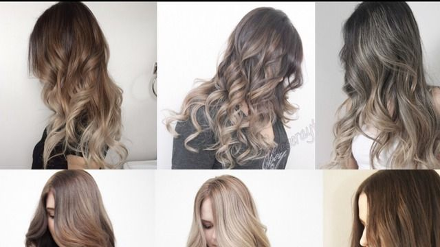 ash brown balayage - Google Search