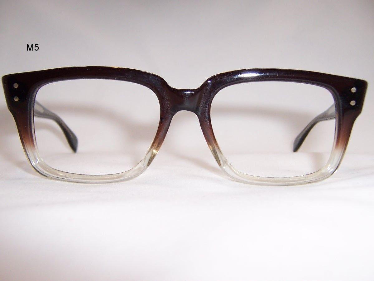 93e7216ad4 1960s Two Tone Old School Spectacles - Vintage Glasses - Dead Men s Spex