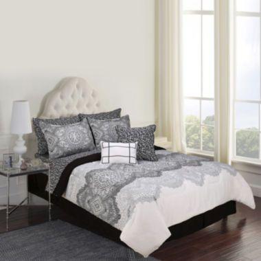 Jessica Mcclintock Jacqueline Lace 10 Pc Complete Bedding Set