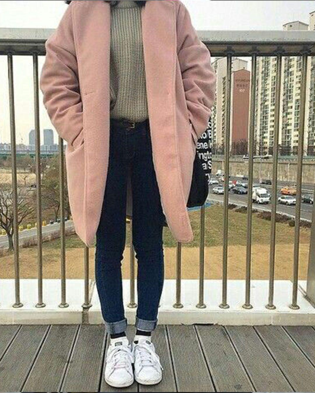 Clothes for the winter season that is fashionable  Korean fashion