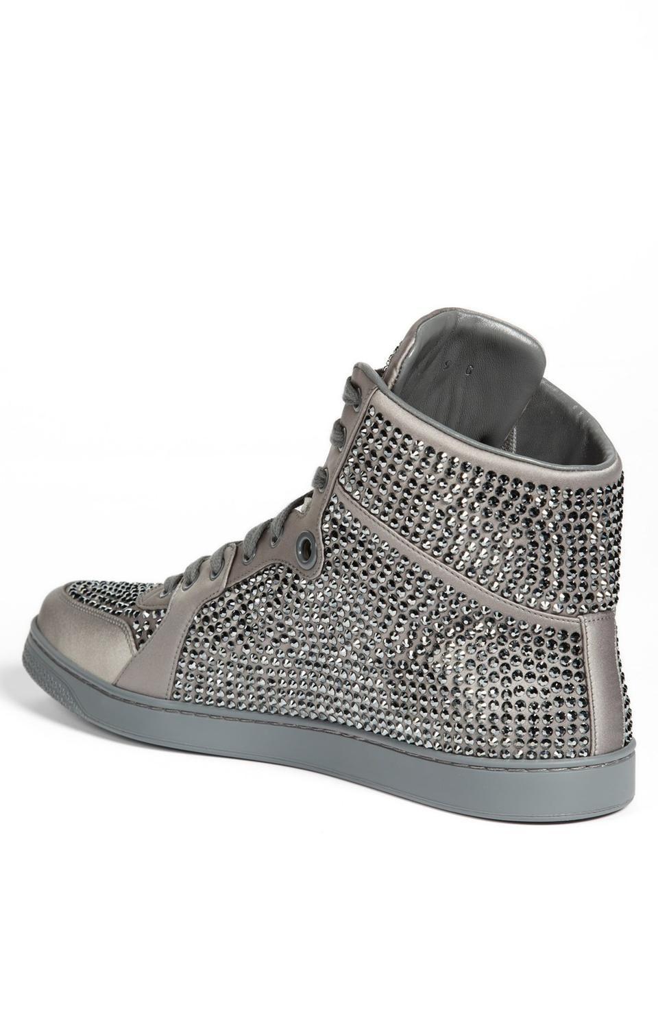 Gucci 'Coda' Crystal High Top Sneaker