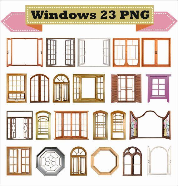 Window Windows Frame Photo Old Retro Classic Vintage Clipart Etsy In 2020 Window Frame House Window Design Windows