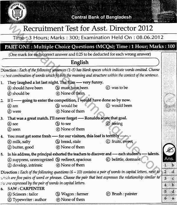 Pin On Job Examination And Question Solution