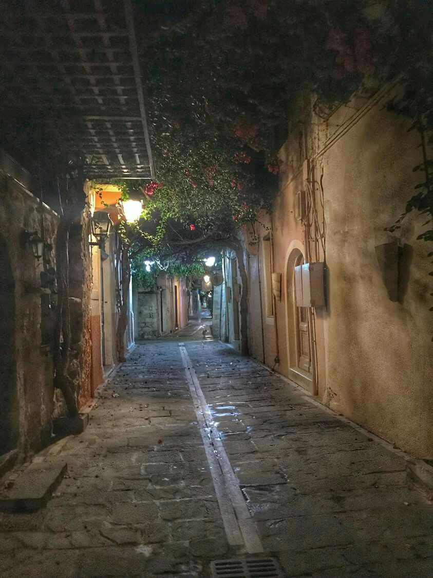 Παλιά πόλη-Ρέθυμνο | Road, Structures, Alley