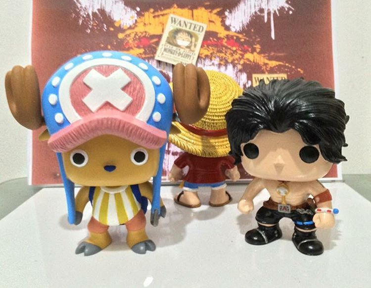 Chopper and Ace now ready for pre-order! DM me for details :) #ValkyrieStatues #funkopop #funkocustom #animepops #onepiece #chopper