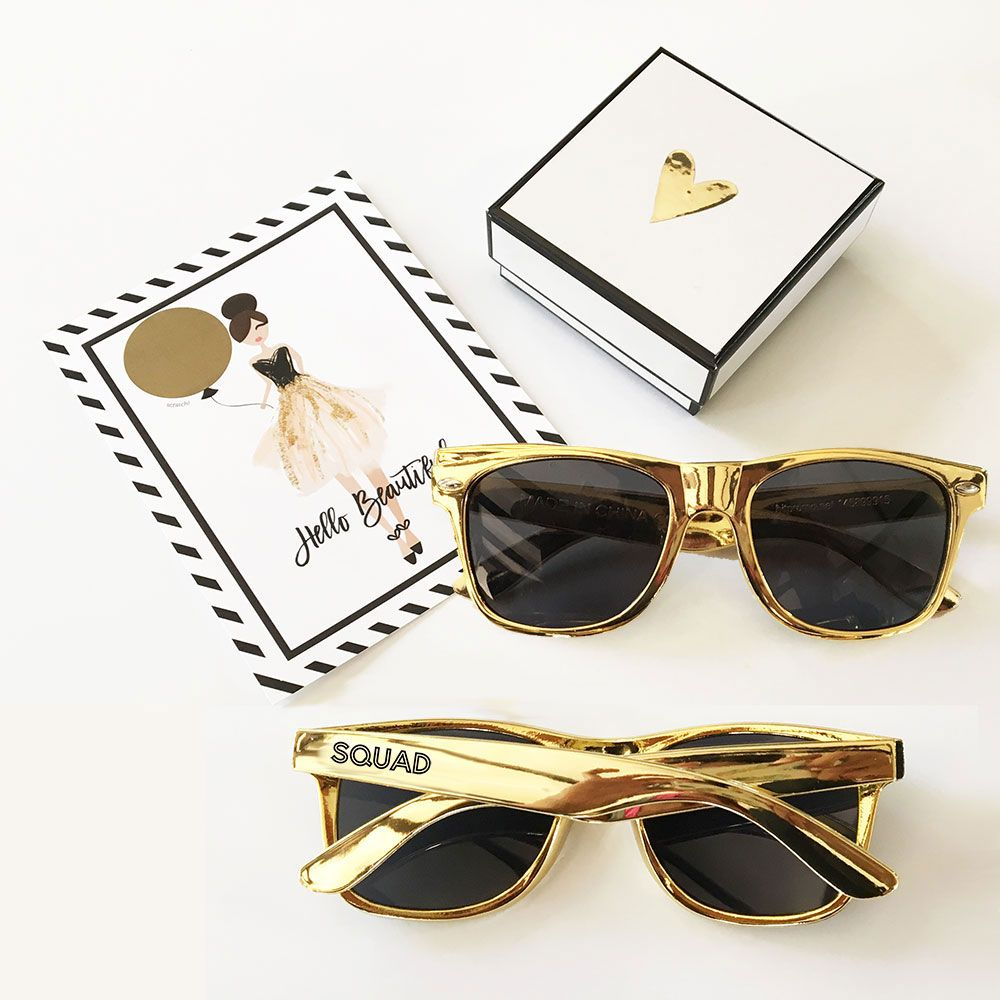 Gold Bachelorette Sunglasses | Perfect wedding, Wedding and Bridal ...