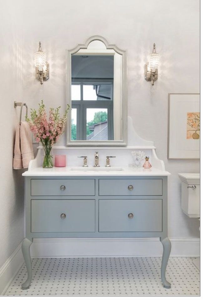 Vanity With French Provincial Legs